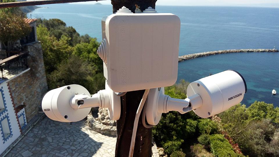 Εγκατάσταση συστήματος παρακολούθησης σε ξενοδοχείο