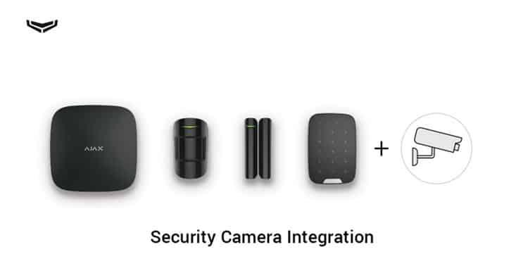 Μπορείτε να συνδέσετε οποιαδήποτε κάμερα IP που χρησιμοποιεί το πρωτόκολλο RTSP στο σύστημα ασφαλείας Ajax
