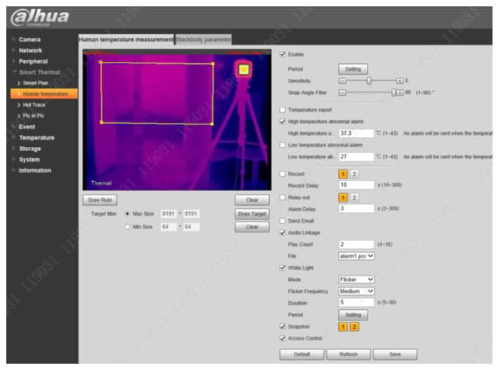Σχεδίαση περιοχής ανίχνευσης στην κάμερα